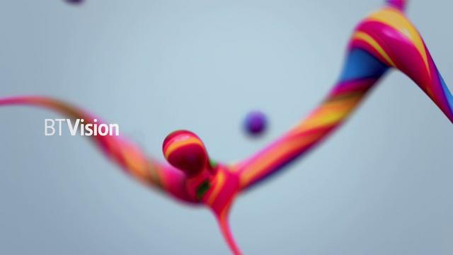 BT Vision Rebrand - Inspiring 3D animation