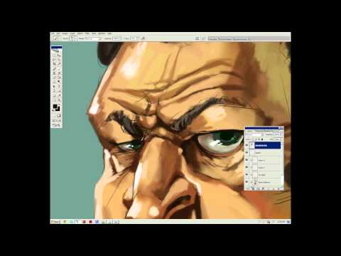 Digital Caricature Painting with Sam Deats