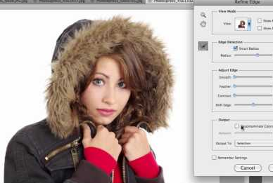 Know more about Refine Edge tool (6 videos) - Photoshop
