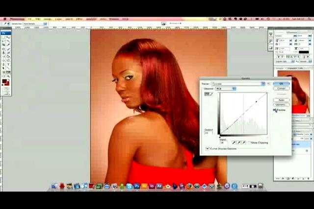 Professional Photo-Retouching Tutorial: Hair