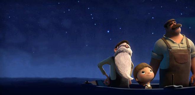 pixar 3d animated short