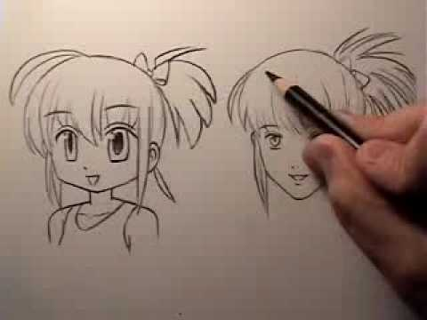 Manga Face Tutorial: Cartoony Vs. Realistic