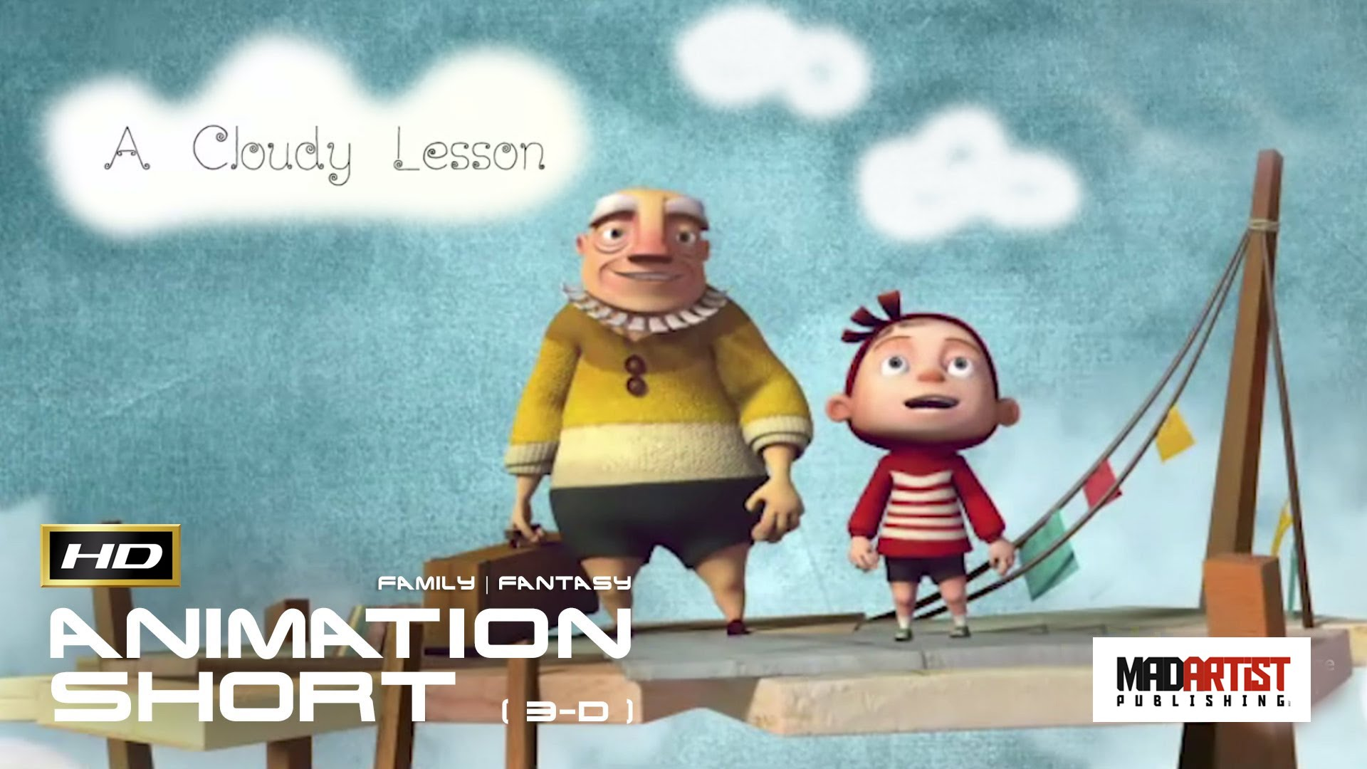 A CLOUDY LESSON - Creative 3D Animated Short