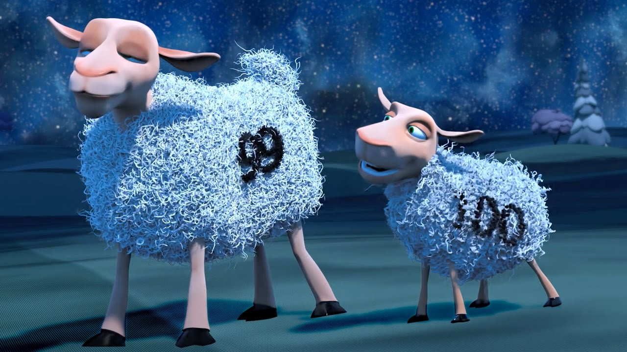 The Counting Sheep - 3D Animated Funny Short film