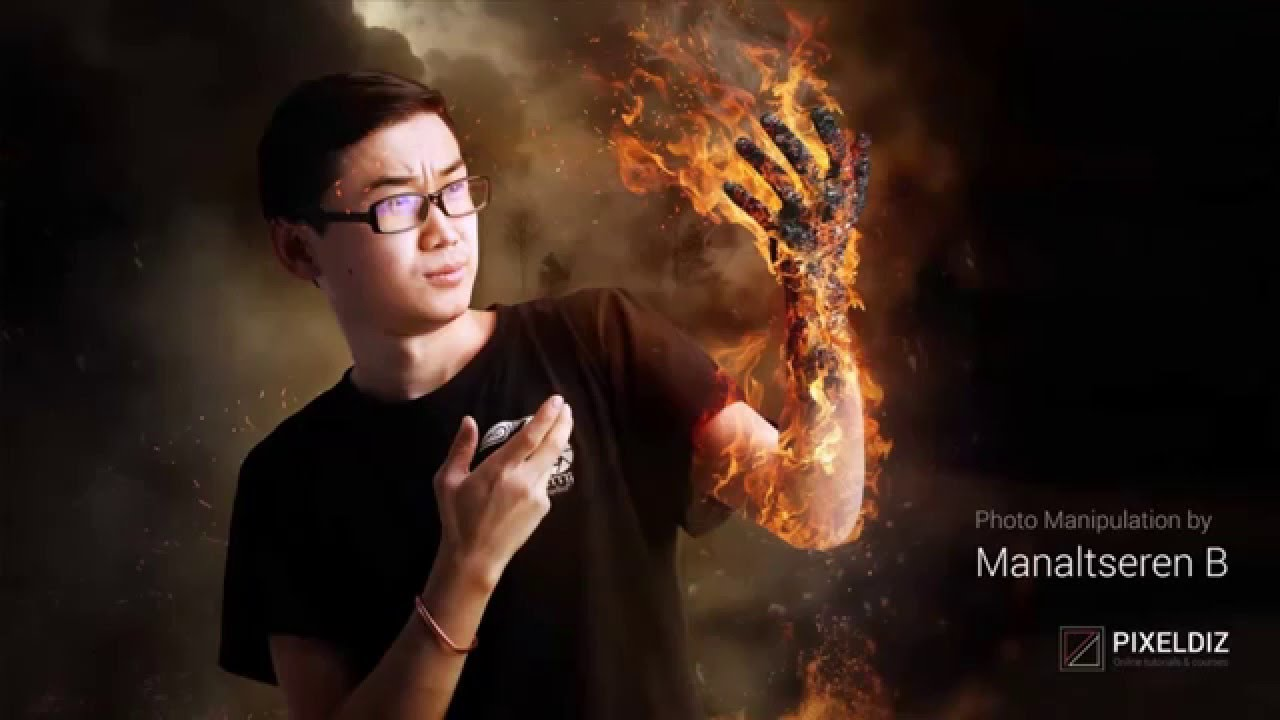 Stunning Fire Photo Manipulation by Manaltseren