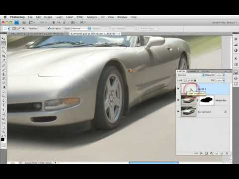 Faking Motion Blur in Photoshop CS4