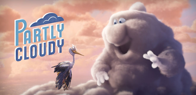 Partly Cloudy - Pixar Short Film