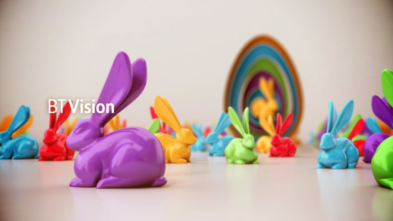 BT Vision - Easter - Beautiful 3D Animation Clip