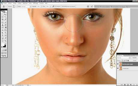 How to get perfect smooth skin by photoshop - Tutorial