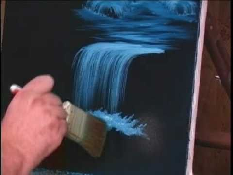 How to Paint Water and Waterfalls - Tutorial 10 videos
