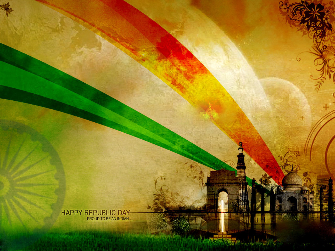 25 beautiful happy republic day wishes and wallpapers for India wallpaper 3d