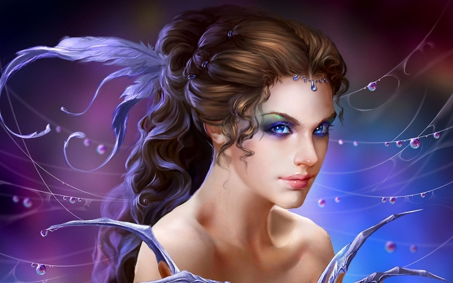 3d Fantasy Dreamy Girls Hd Wallpaper For Mobile: 30 Most Beautiful 3D Wallpapers For Your Desktop Mobile