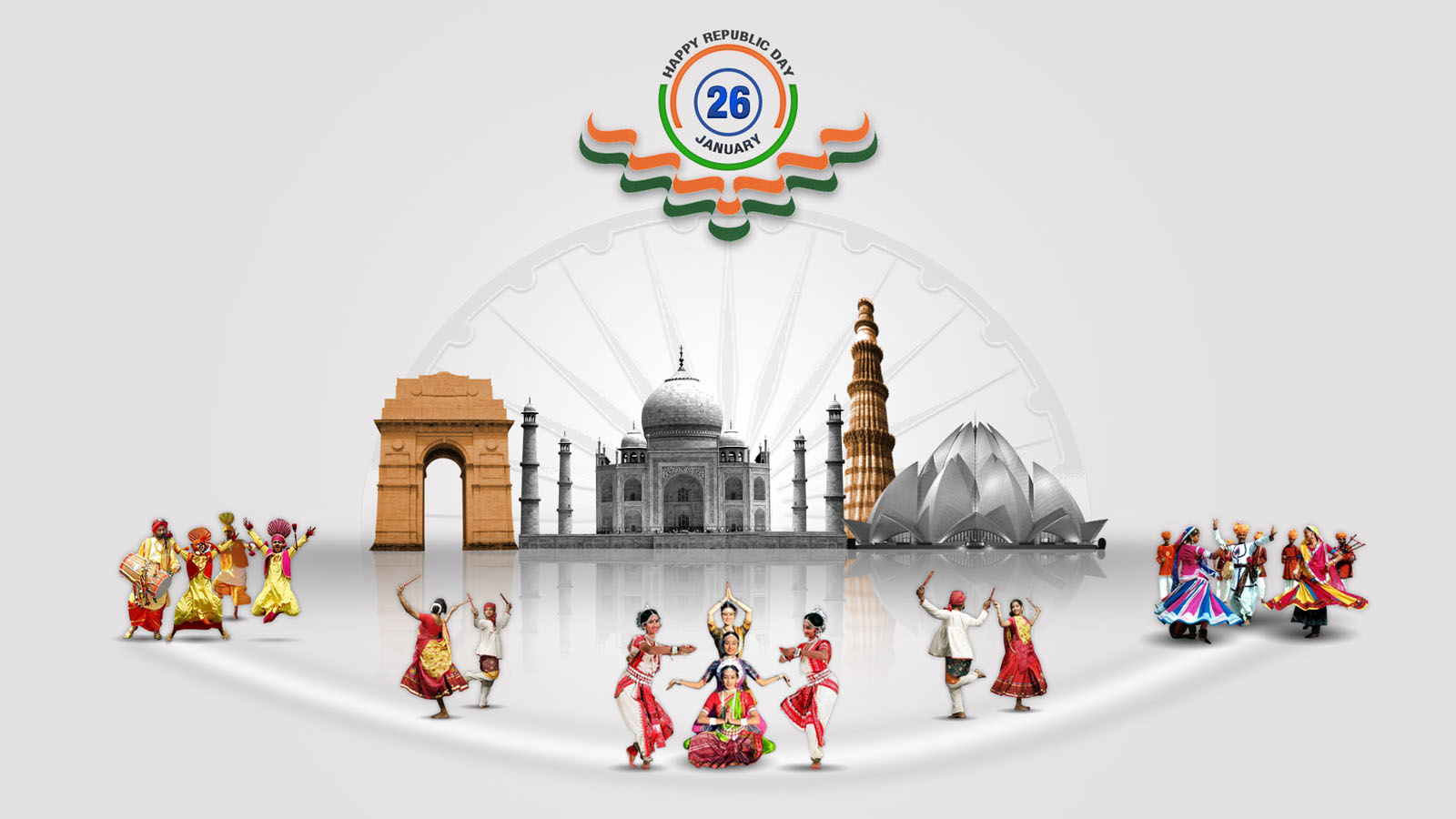 25 Beautiful Happy Republic Day Wishes And Wallpapers
