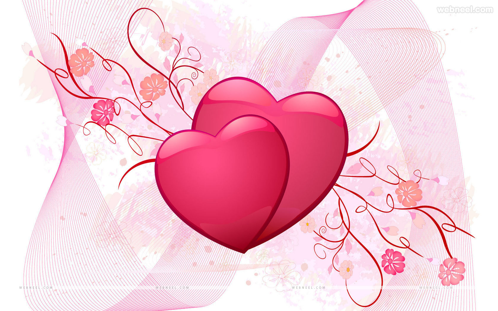 30 beautiful valentines day wallpapers for your desktop - Valentine s day flower wallpaper ...