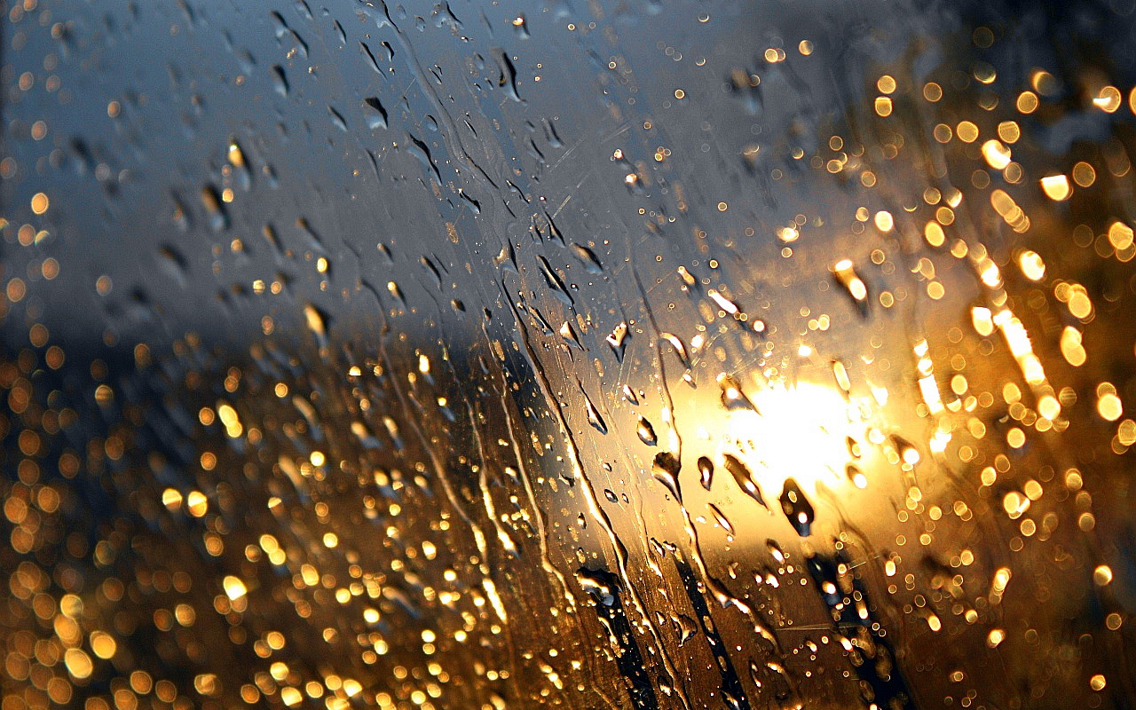 drops on car window wallpaper