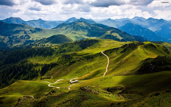kitzbuhel mountain wallpaper