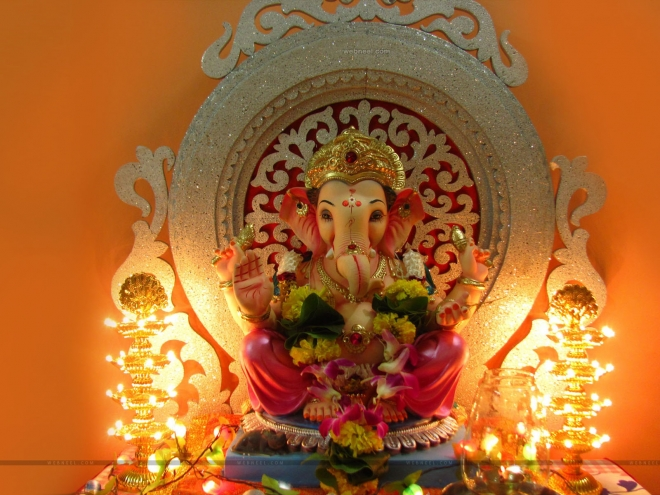 lord ganesh wallpaper by raman sharma