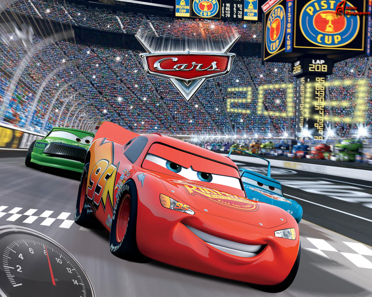 Size 1024 X 819 Cars Movie Wallpaper