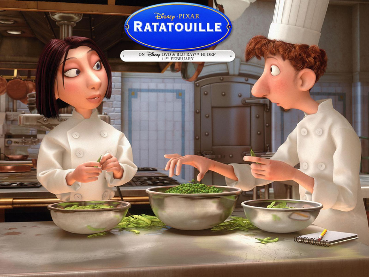 ratatouille movie wallpaper 3 - HD Wallpaper