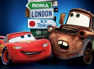4 cars movie wallpaper