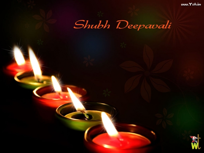 beautiful diwali diyas wallpaper