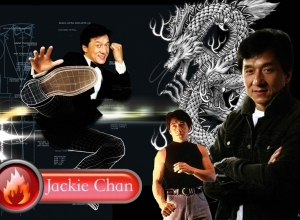 jackie chan kick wallpaper