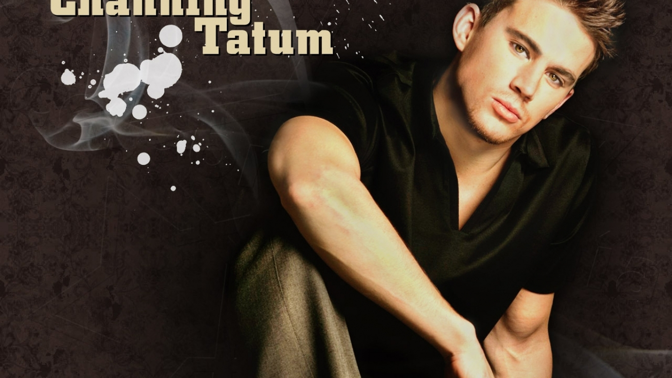 new channing tatum wallpaper 1366