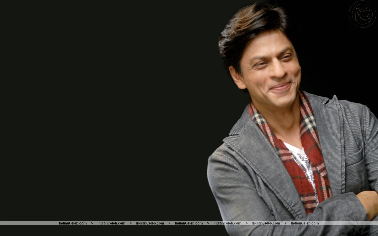shahrukh khan smile wallpaper - hd wallpaper