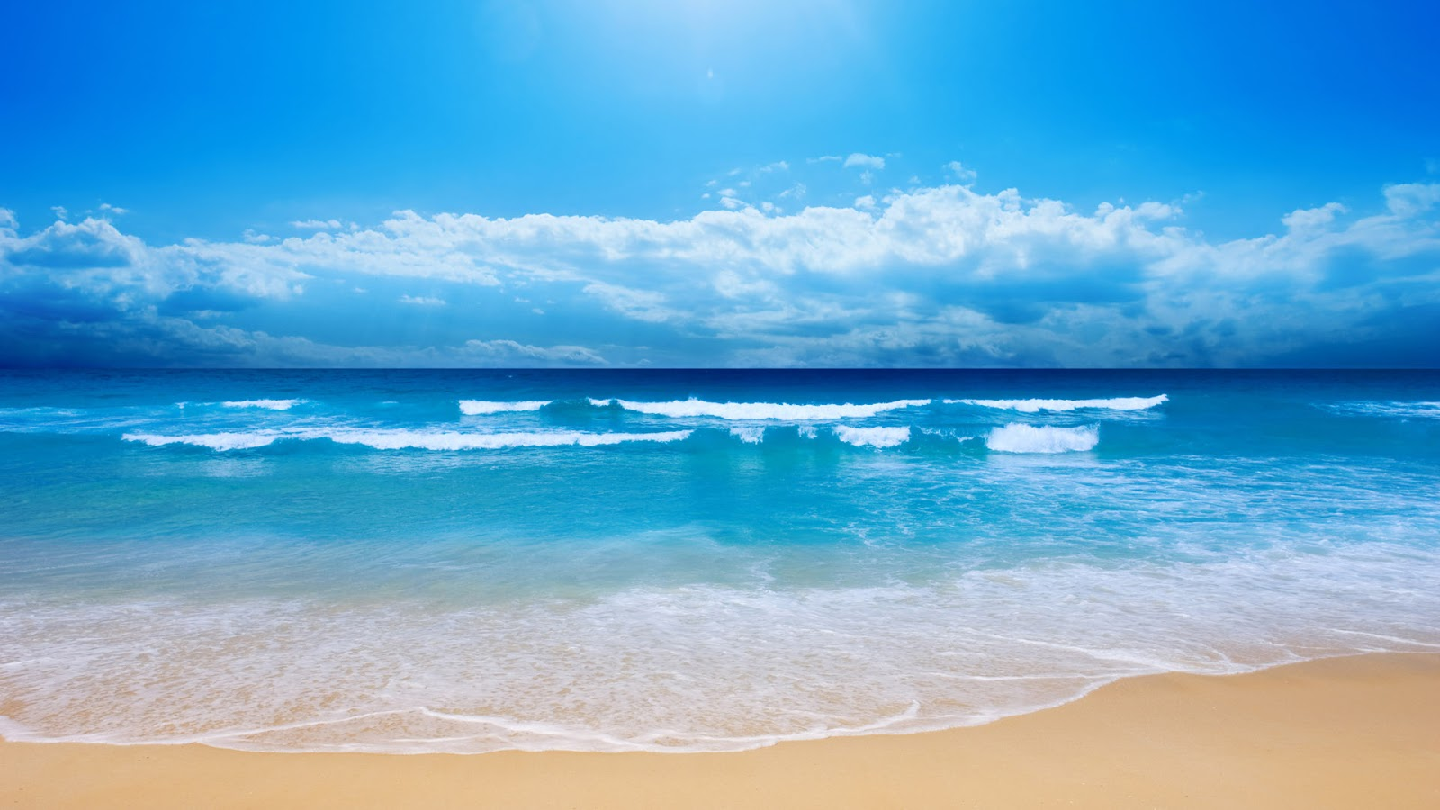 sea beach sand wallpaper 11 - hd wallpaper