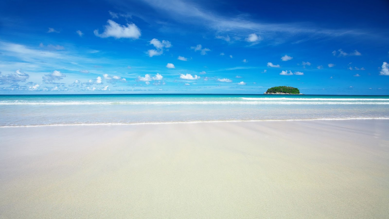 Beach Wallpaper Beautiful Blue Sea