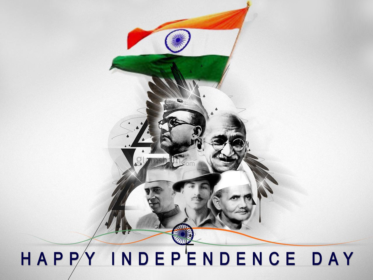 Happy 15th August Indian Independence Day Images HD Wallpapers for free download