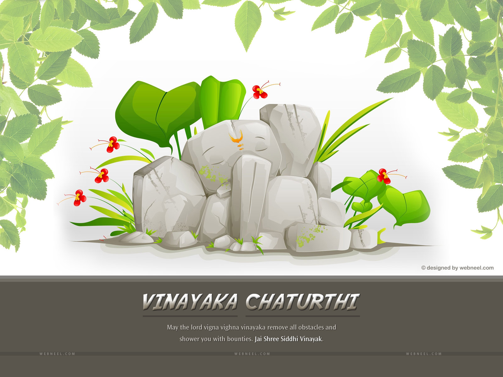 lord ganesh chathurthi wallpaper