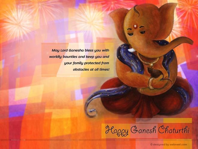 ganesh chathurthi wallpaper