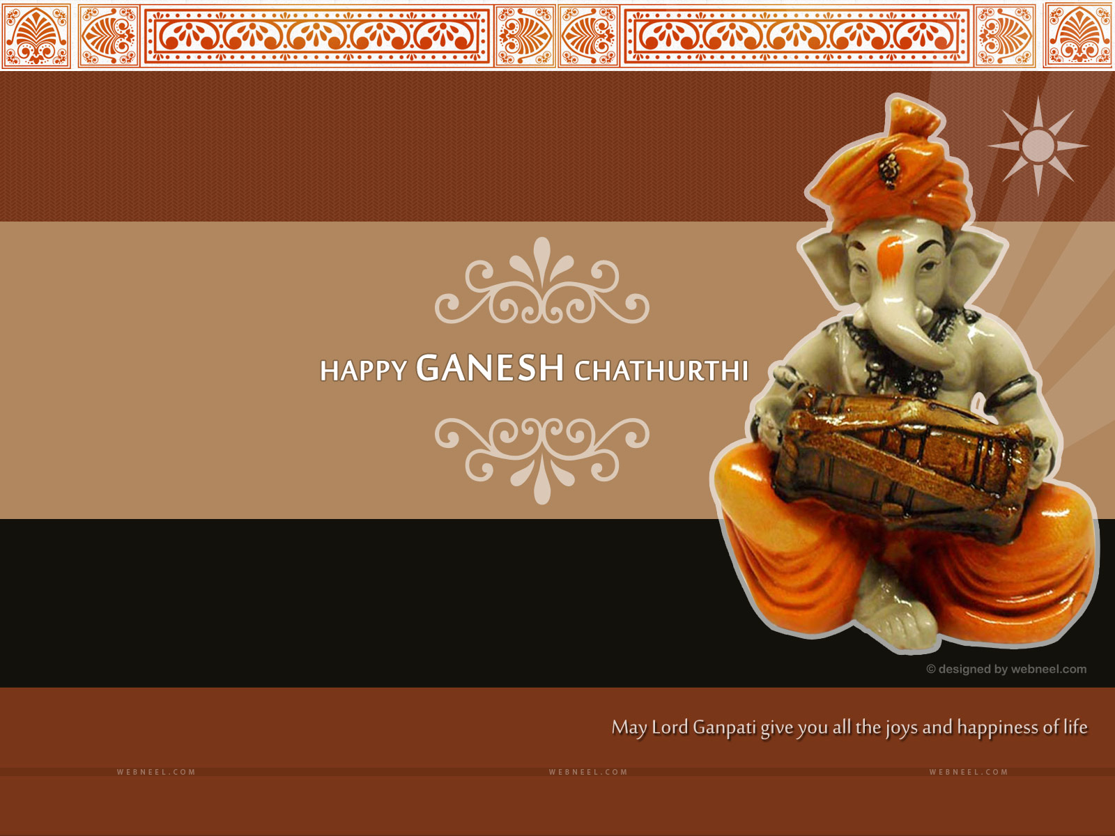 lord ganesh chathurthi wallpaper vinayaka