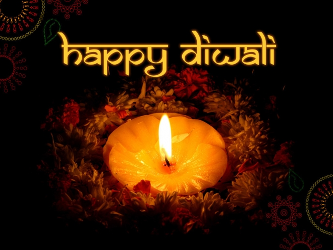 happy diwali greetings wallpaper