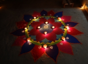 diwali rangoli wallpaper