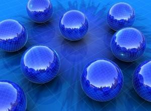 11 blue wallpaper sphere - Trending Wallpaper