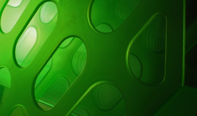 green wallpaper by margeols
