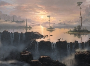 2 fog matte painting by feliks