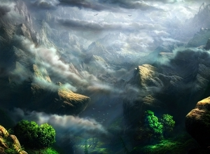 10 mountain matte painting by feliks