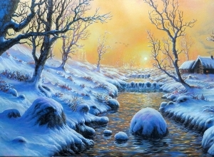 7 winter digital art by feliks