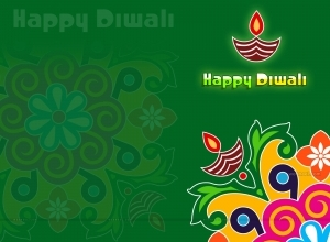 1 rangoli diya diwali wallpaper design by webneel