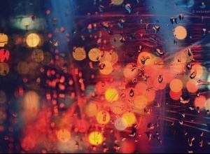 45 rain wallpaper night light by bokeh