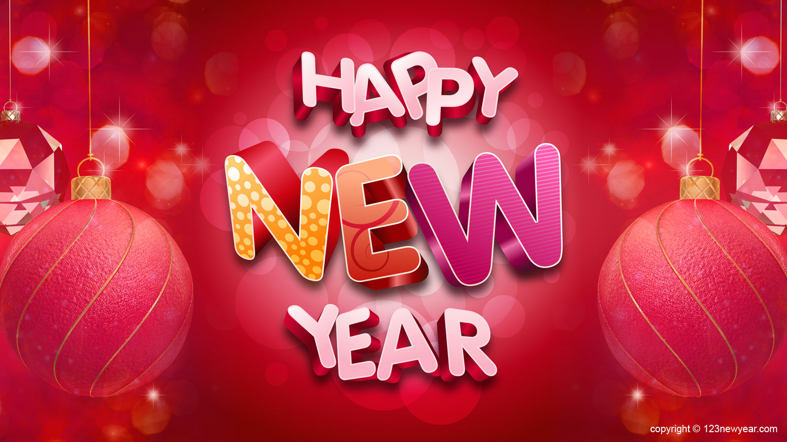 happy new year animation pictures