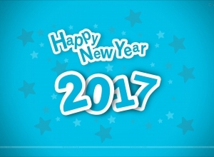 11 new year wallpaper blue