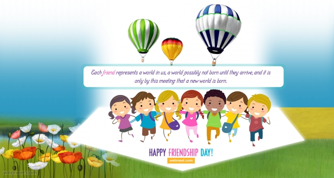 happy friendship day wallpaper