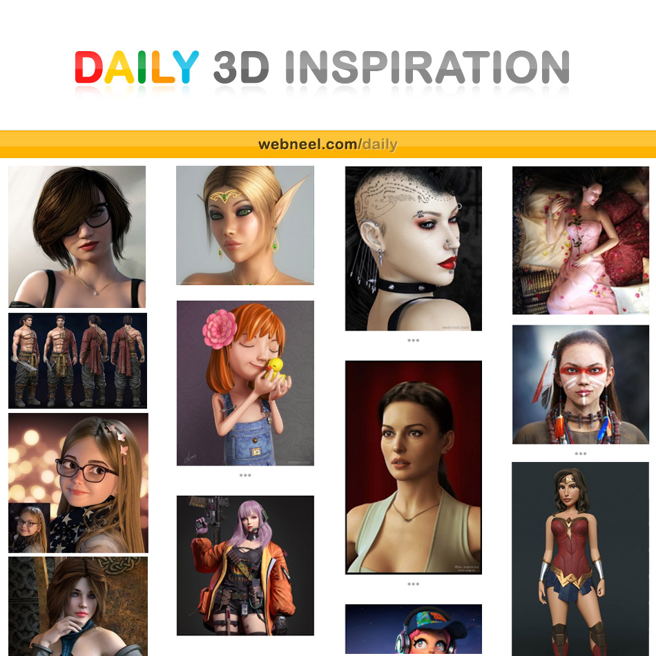 daily 3d inspiration
