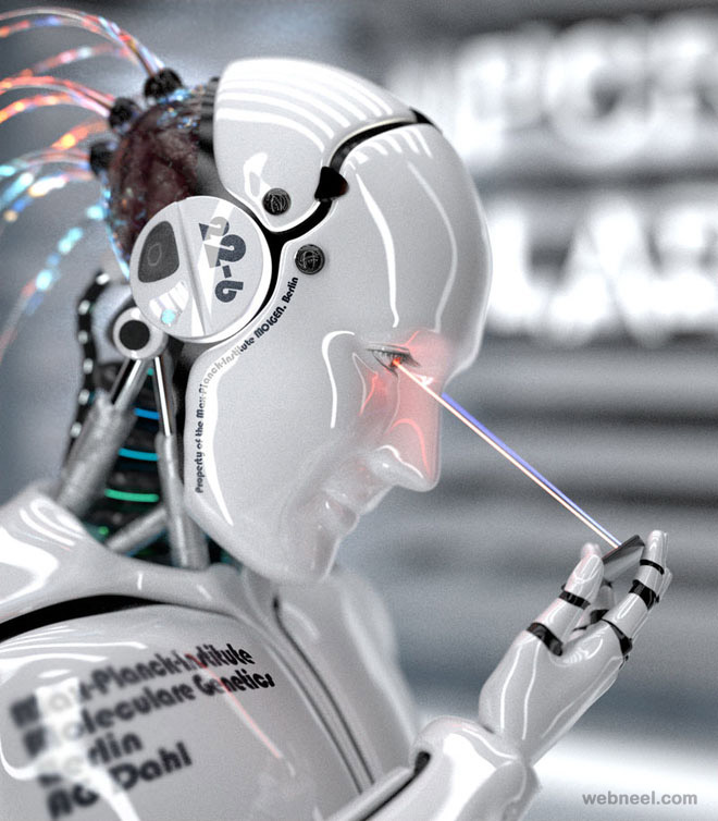robot man character