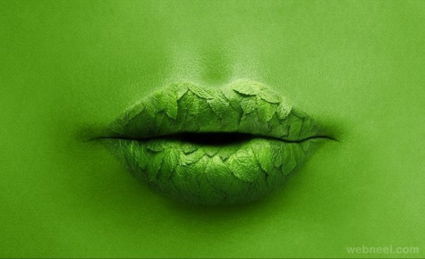 photo manipulation lips