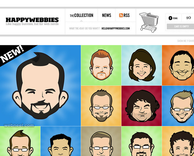 Beautiful Website design creative best colorful
